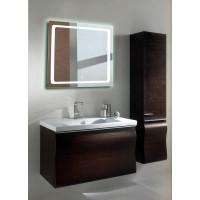 Квадратное LED зеркало с подсветкой в ванной Катро 80x80 см