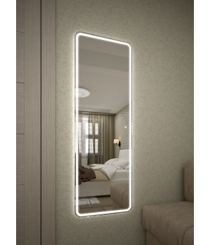 Зеркало с подсветкой в ванной Лоррен